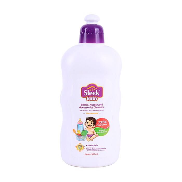 harga Sleek baby bottle, nipple & accessories cleanser | sabun cuci botol Tokopedia.com