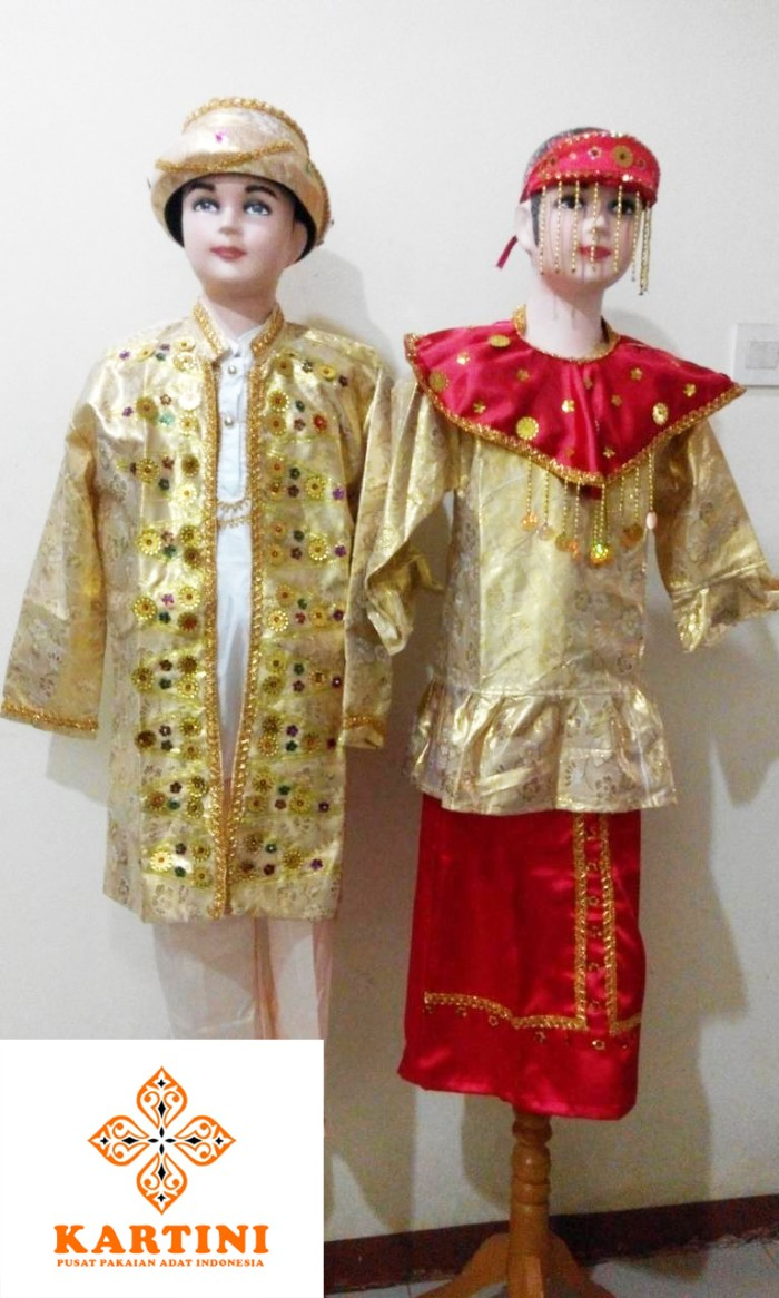 Jual Pakaian Adat Baju Adat Betawi Jubah Laki Laki Jakarta Barat BusanaKartini