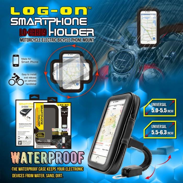 harga Holder motor gojek grab bike waterproof 5 - 5.5   5 inch 55  inch Tokopedia.com