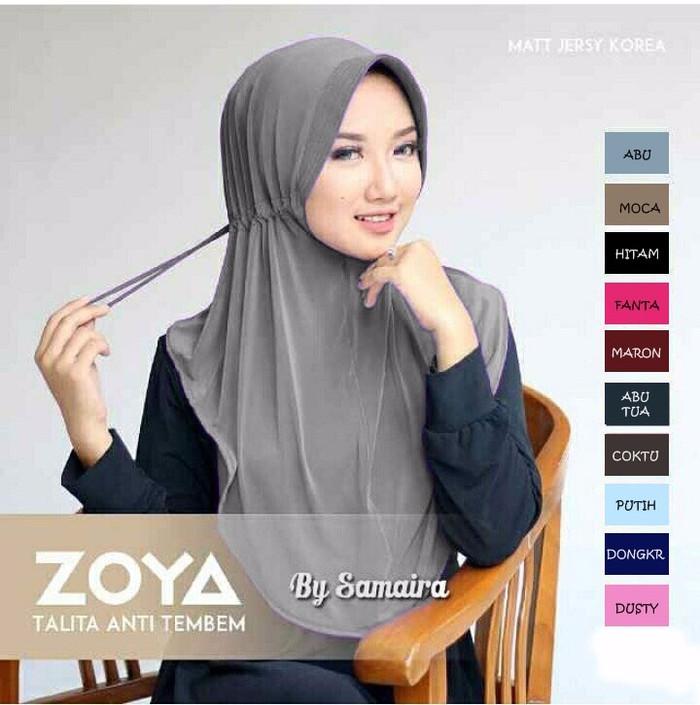 Jual Jilbab Hijab Bergo Zoya Talita Kota Bandung Azh Zahra Hijab Tokopedia