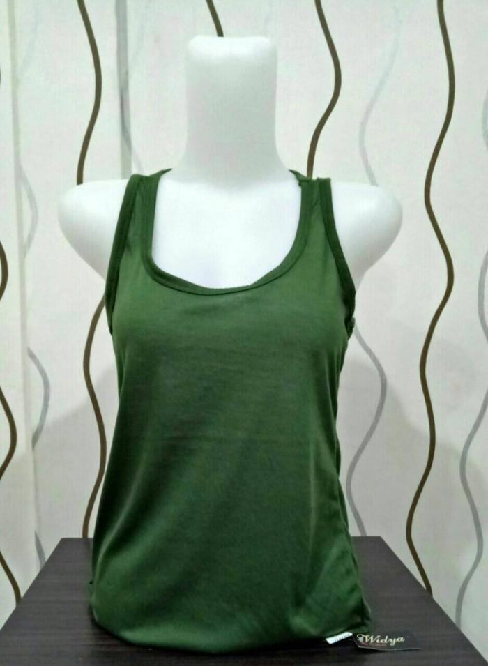 Foto Produk tengtop wanita model silang agnes kaos dalam pakaian dalam dari fathanstore