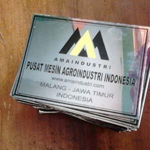 Foto Produk Label Stainless dari Lekas Jaya