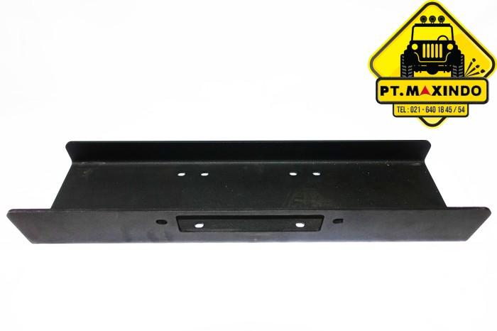 harga T-max winch mounting plate untuk tempat dudukan winch Tokopedia.com