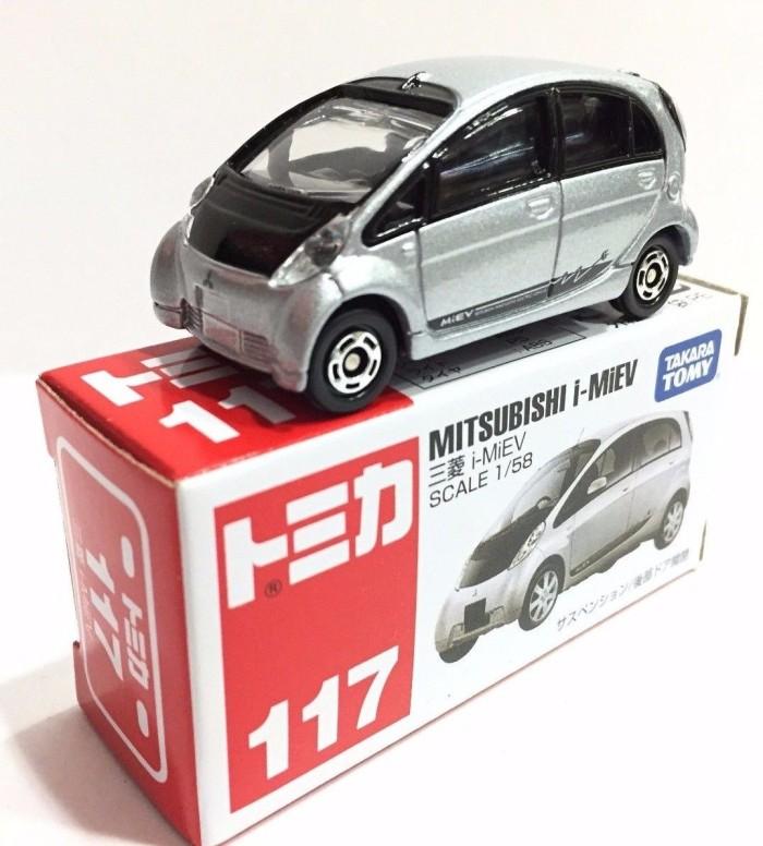 harga Tomica no 117 mitsubishi imev miniatur mobil diecast takara tomy Tokopedia.com