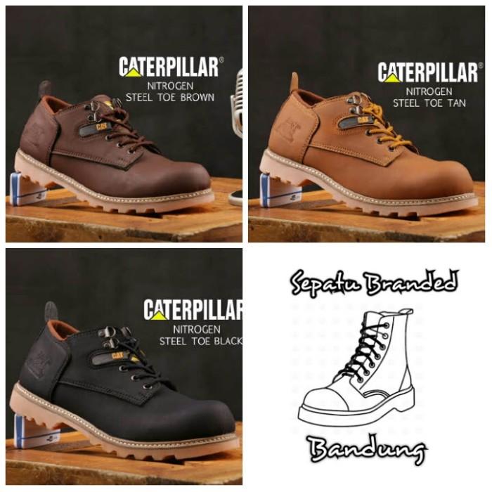 harga Sepatu midel boot pria caterpillar nitrogen safety casual kerja pendek Tokopedia.com