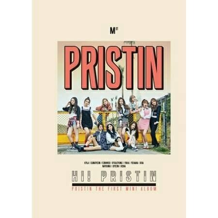 [pre order] pristin 1st mini album - hi! pristin (prismatic ver)