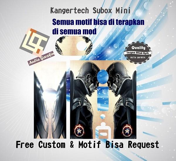 harga Garskin kangertech subox mini motif america capt motif bisa request Tokopedia.com