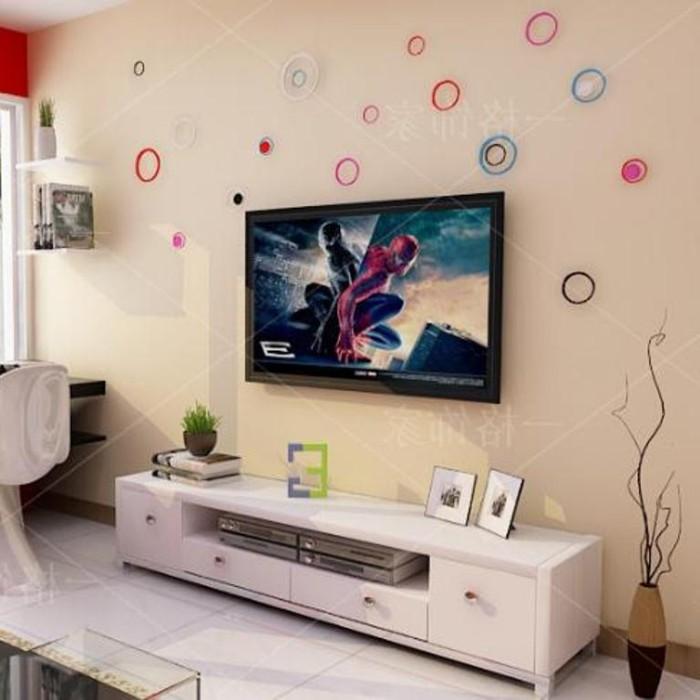 jual hiasan dinding kayu 3d wall sticker minimalis vintage wallpaper rh tokopedia com
