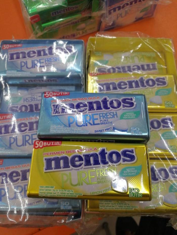 Mentos Pure Fresh Peppermint 35gr buy 2 get 2 flush Shopee Source · PERMEN MENTOS PCS