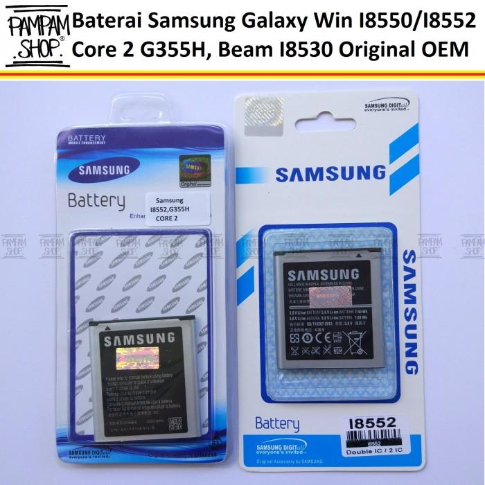 harga Baterai handphone samsung galaxy core 2 g355h original | battery sein Tokopedia.com