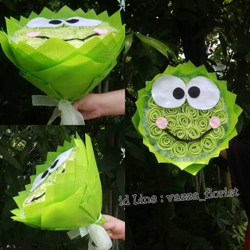 Jual Buket Full Mawar Model Keropi Bunga Flanel Kab Lampung Selatan Vazzaflorist Tokopedia