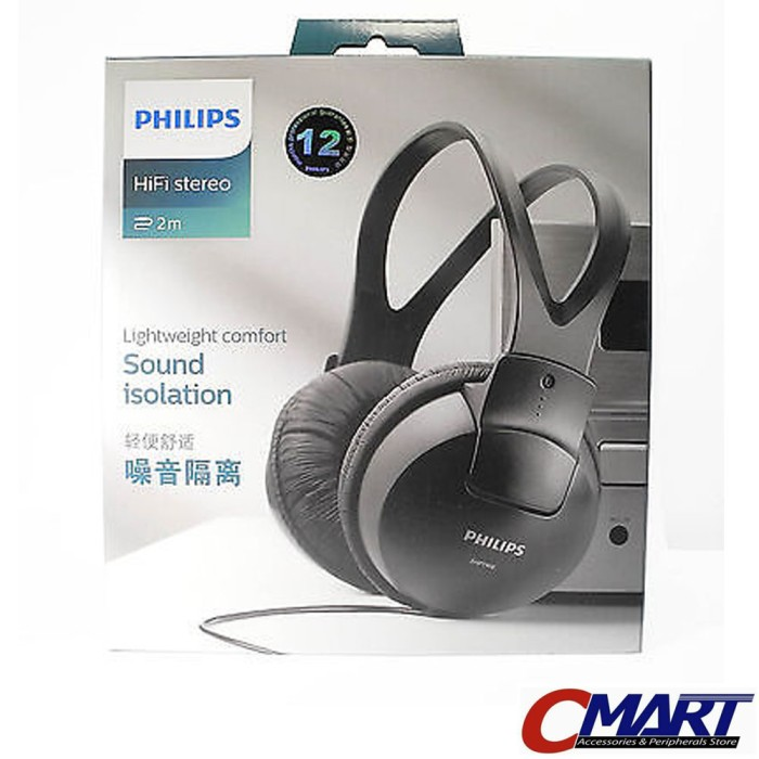 Logitech H151 Stereo Headset Casque Stereo Hitam5 Daftar Harga Source · Philips SHP1900 HiFi Stereo Headphone