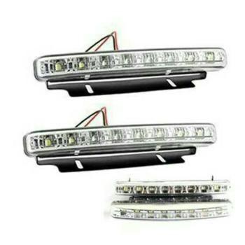 PROMO LAMPU DRL 8 LED Baru | Lampu Headlamp Stoplamp Mobil Murah