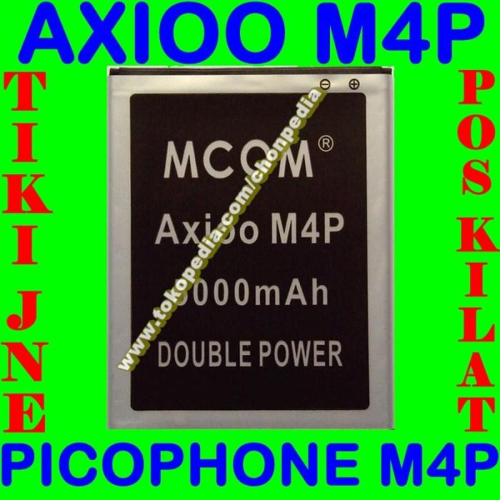 Baterai axioo picophone m4p mcom m com batrai batre battery batere