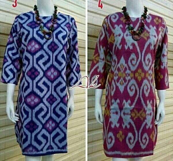 Jual Long dress batik terbaru Tenun Rang Rang Tenun   Daster Jumbo ... 5b937b2048
