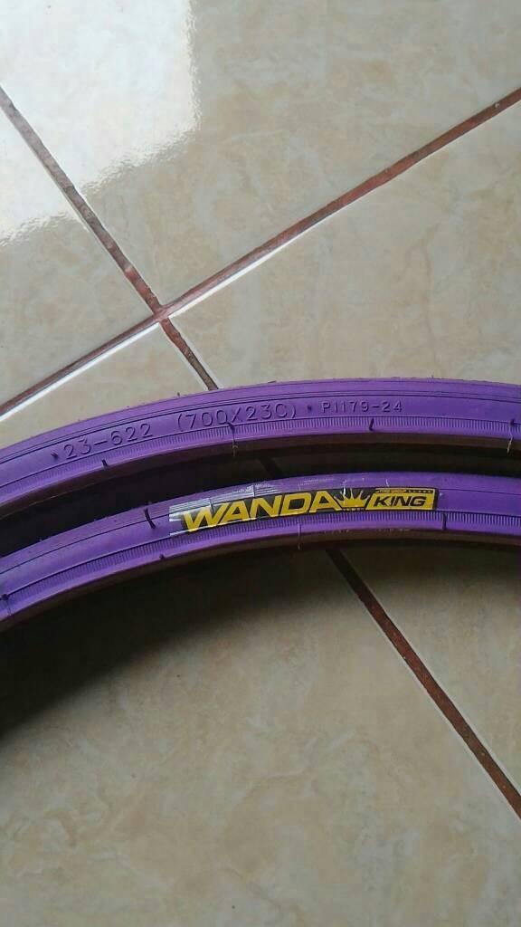 harga Ban fixie wanda king 700 23 c ungu Tokopedia.com