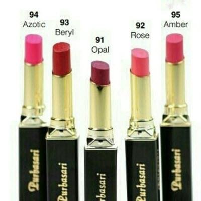 Purbasari Lipstik Color Matte Kode 91,92,93,94,95