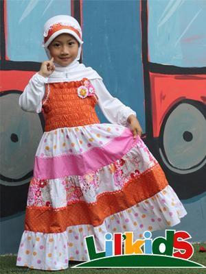 Foto Produk Baju Muslim Anak Sabrina Size 2 RP 154.000 dari Lil Kids