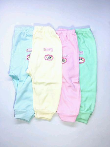 Luvita 4Pcs Celana Bayi Panjang Polos ( NewBorn )