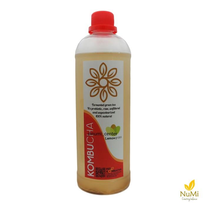 Foto Produk Kombucha Lemongrass 1L - Indokombucha   Teh Fermentasi Probiotik dari NUMI Center