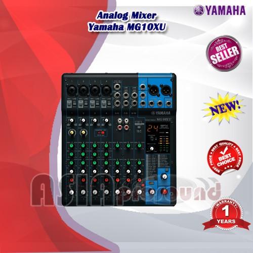 harga Analog mixer yamaha mg10xu / mg 10xu / mg-10xu / mg 10 xu / mg-10 xu Tokopedia.com