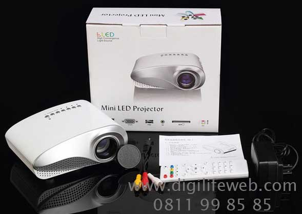 harga Mini led projector rd-802 with tv tuner portable proyektor display Tokopedia.com
