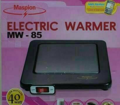 Mesin Showcase Warmer FOMAC SHC HRTR160L. Source · MASPION Electric Warmer Penghangat Pemanas Elektrik MW