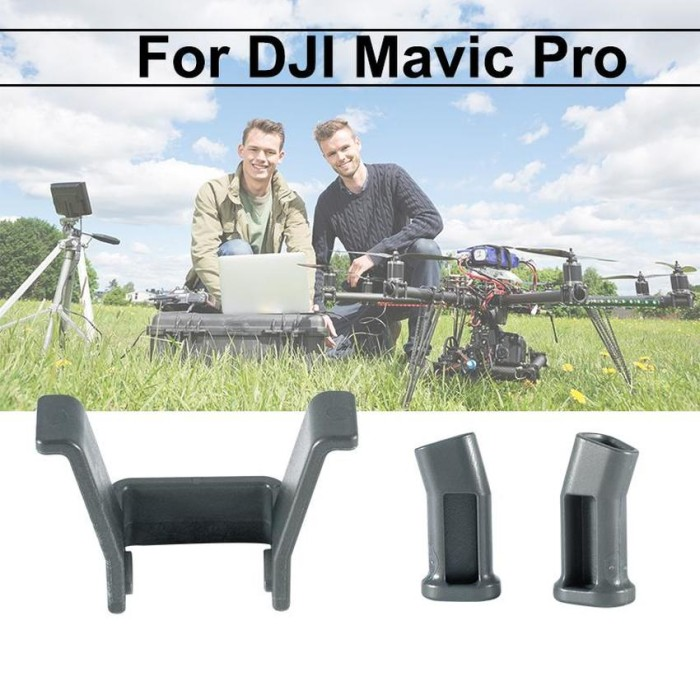 harga Rc488 landing gear extended protection pad dji mavic pro drone grey Tokopedia.com