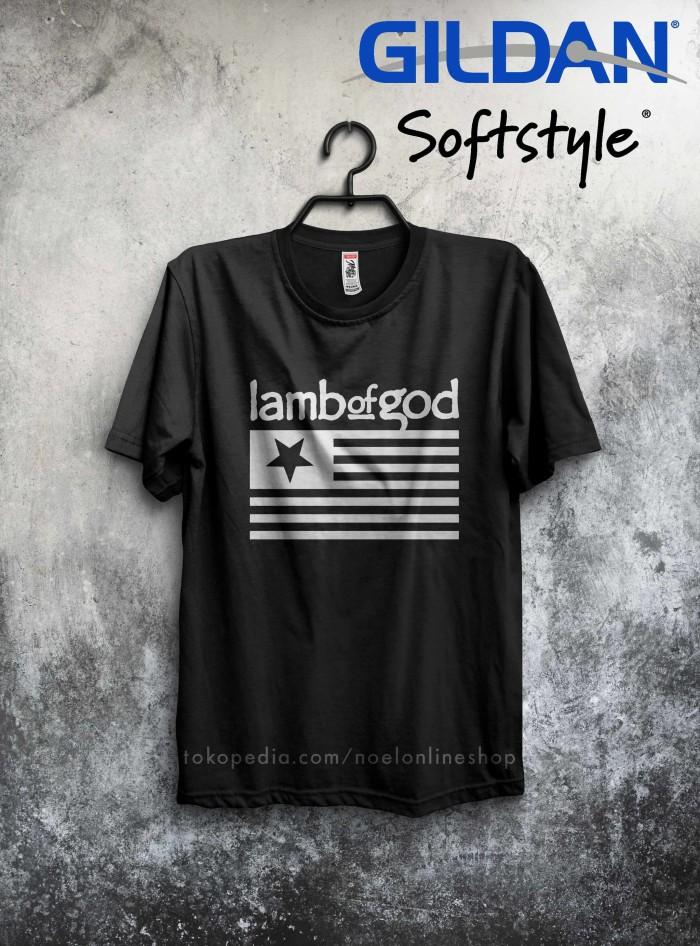 harga Baju pakaian kaos band metal lamb of god log pure american metal Tokopedia.com