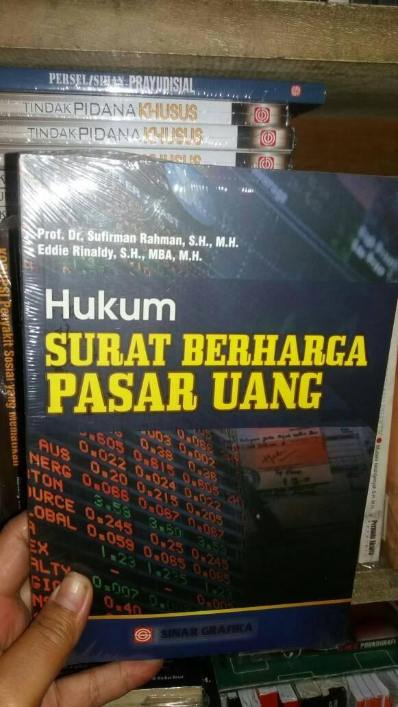 Jual Hukum Surat Berharga Pasar Uang Ori Dki Jakarta Ria Tifara Tokopedia