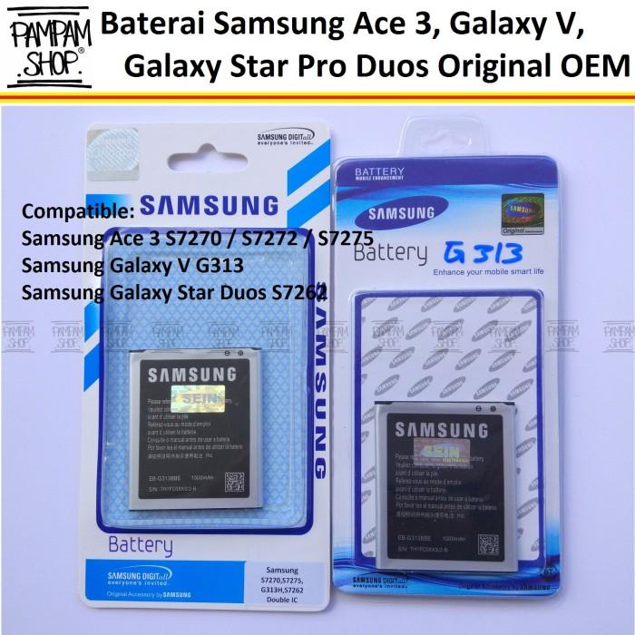 harga Baterai handphone samsung galaxy v g313 original | battery g 313 sein Tokopedia.com