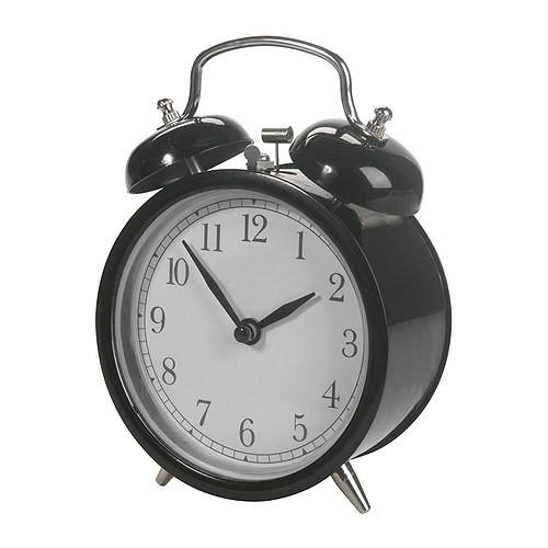 1.ikea dekad jam beker hitam