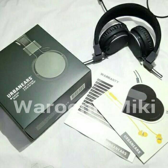 harga Headphone urbanears plattan (black/hitam) Tokopedia.com