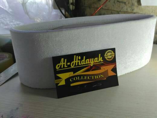 1a37d86ef2ea50 Jual peci songkok putih tinggi 10 cm