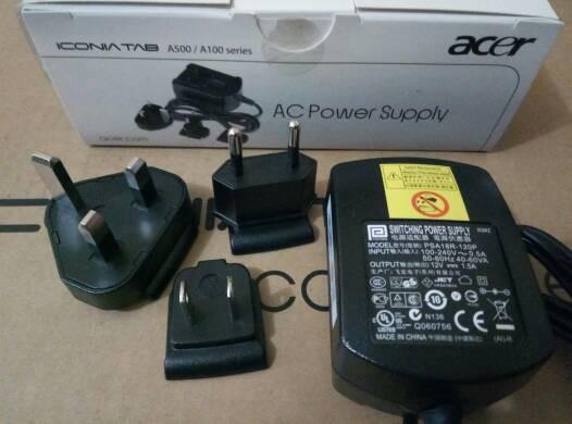 harga Adaptor Charger Acer Iconia Tab 12v 1,5a Original Tokopedia.com