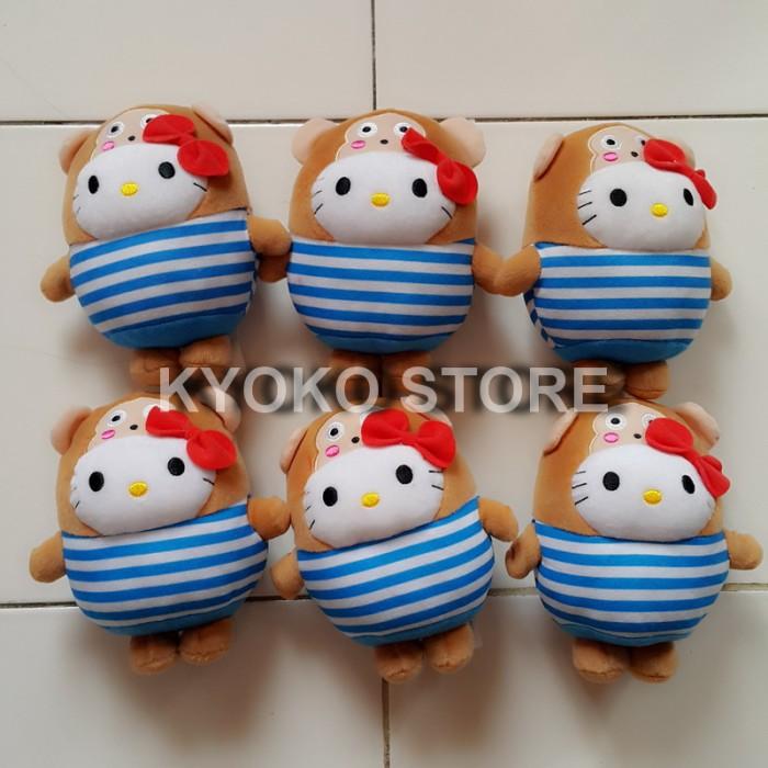 harga Boneka hello kitty bubbly world osaru no monkichi (official mcdonald) Tokopedia.com