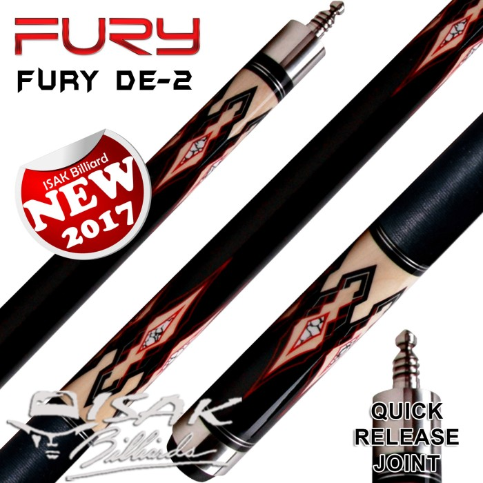 harga Fury de-2 cue - hto low deflection shaft - billiard stick biliar stik Tokopedia.com