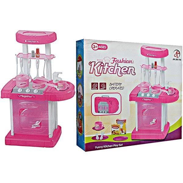 Harga Murah Mainan Fashion Kitchen Koper Dapur Mini