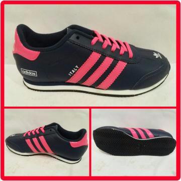 Jual JUAL Sepatu Adidas Italy Navy Pink TERLARIS - JOJO JOYO  6d884aac7b