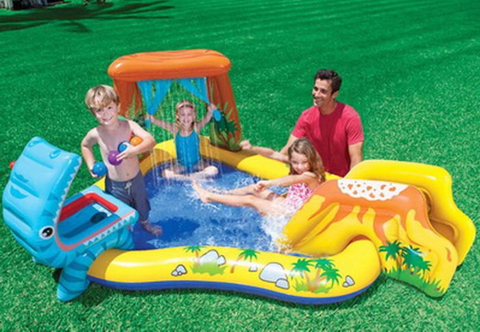 Jual Kolam Renang Dinasaurus Kids Play Center Swimming Pool Intex 57444 Dki Jakarta Lina Online Store Tokopedia