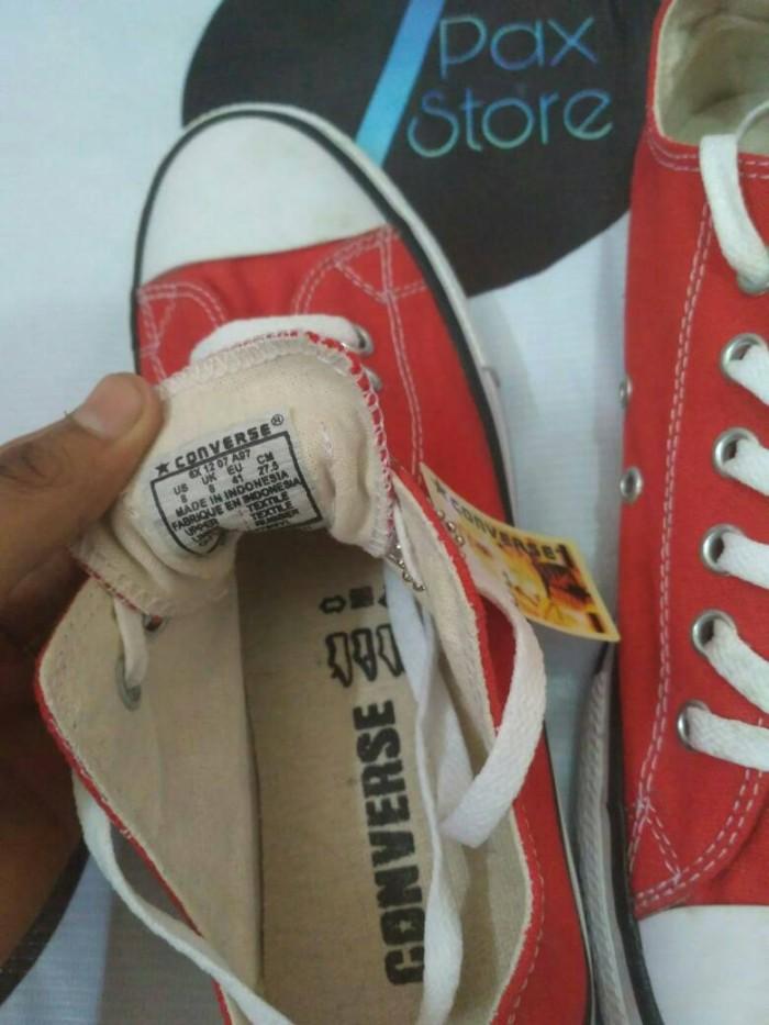 super słodki wylot online pierwsza stawka Jual Sepatu Converse All Star Ori Made In Indonesia Warna Merah Maroon -  DKI Jakarta - 7PaxStore | Tokopedia