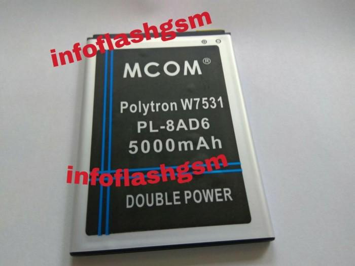 Baterai mcom polytron wizard quadra v w7531 pl-8ad6