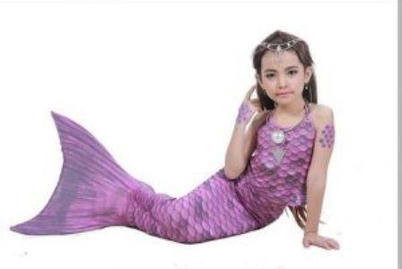 harga Baju kostum renang mermaid/putri duyung motif rainbow (baju aril) Tokopedia.com