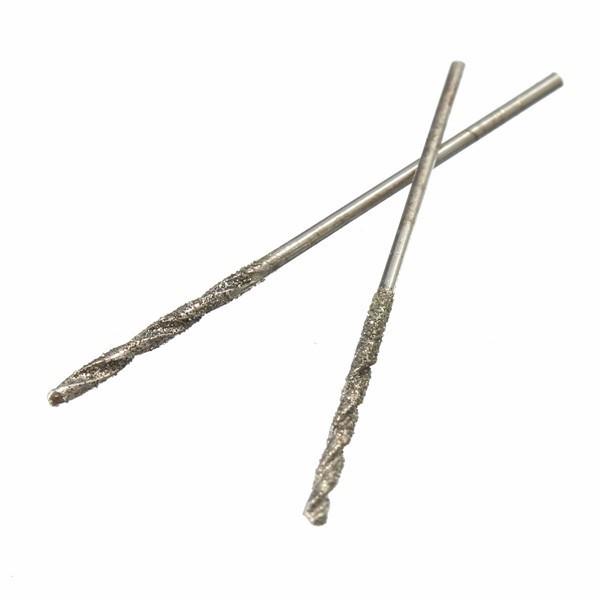 diamond tip drill bit. 1mm hss diamond tipped twist drill bit straight shank mata bor berlian tip