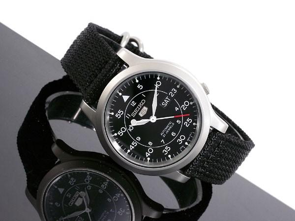harga Seiko 5 snk809 snk809k2 automatic black dial canvas - garansi Tokopedia.com
