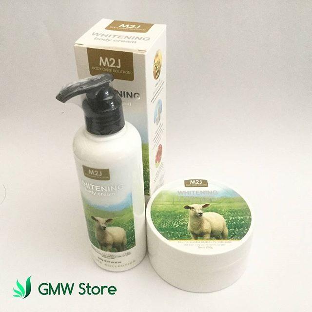 harga Paket pemutih kulit sempurna/ body cream & butter susu domba m2j n424 Tokopedia.