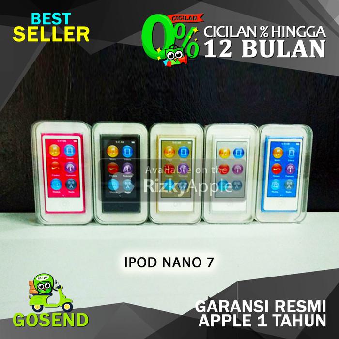 harga Bnib ipod nano 7 16gb garansi apple 1 tahun segel ready semua warna Tokopedia.com