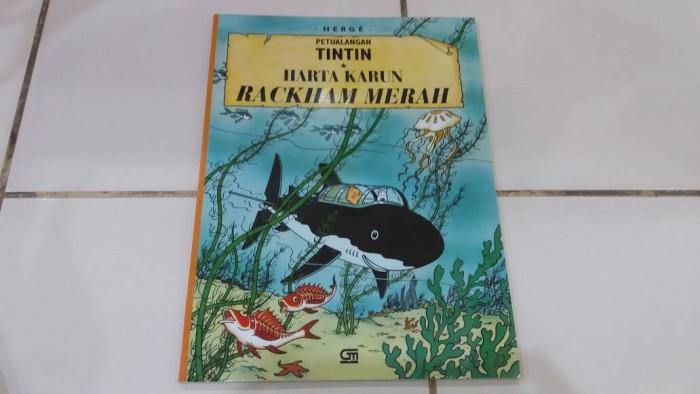 Foto Produk Komik Petualangan Tintin: Harta Karun Rackham Merah dari Pusat Komik