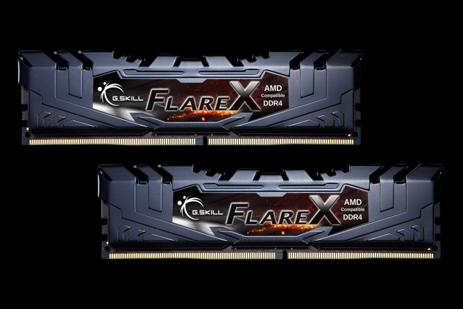harga Memory ddr4 g.skill flarex 16gb f4-3200c14d-16gfx (2x8gb) Tokopedia.com