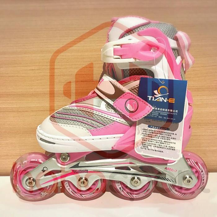 harga Sepatu roda anak karet tian e 281c Tokopedia.com